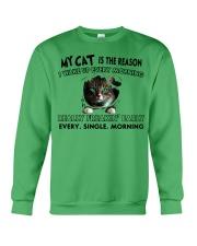 MY REASON-CAT Crewneck Sweatshirt thumbnail