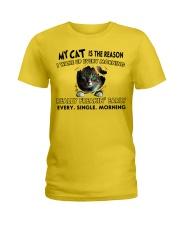 MY REASON-CAT Ladies T-Shirt thumbnail