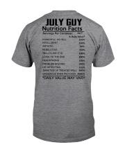 W-GUY FACT US-7 Classic T-Shirt thumbnail