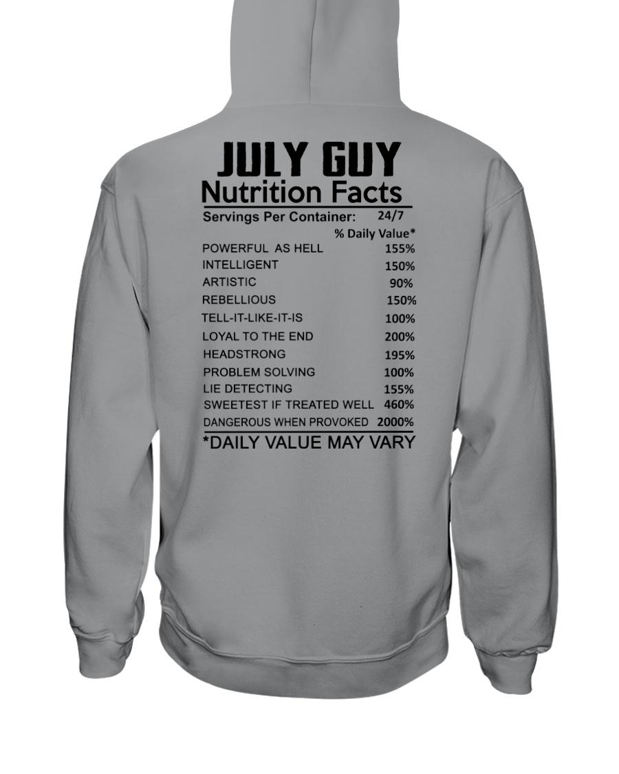 W-GUY FACT US-7 Hooded Sweatshirt
