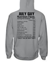 W-GUY FACT US-7 Hooded Sweatshirt back