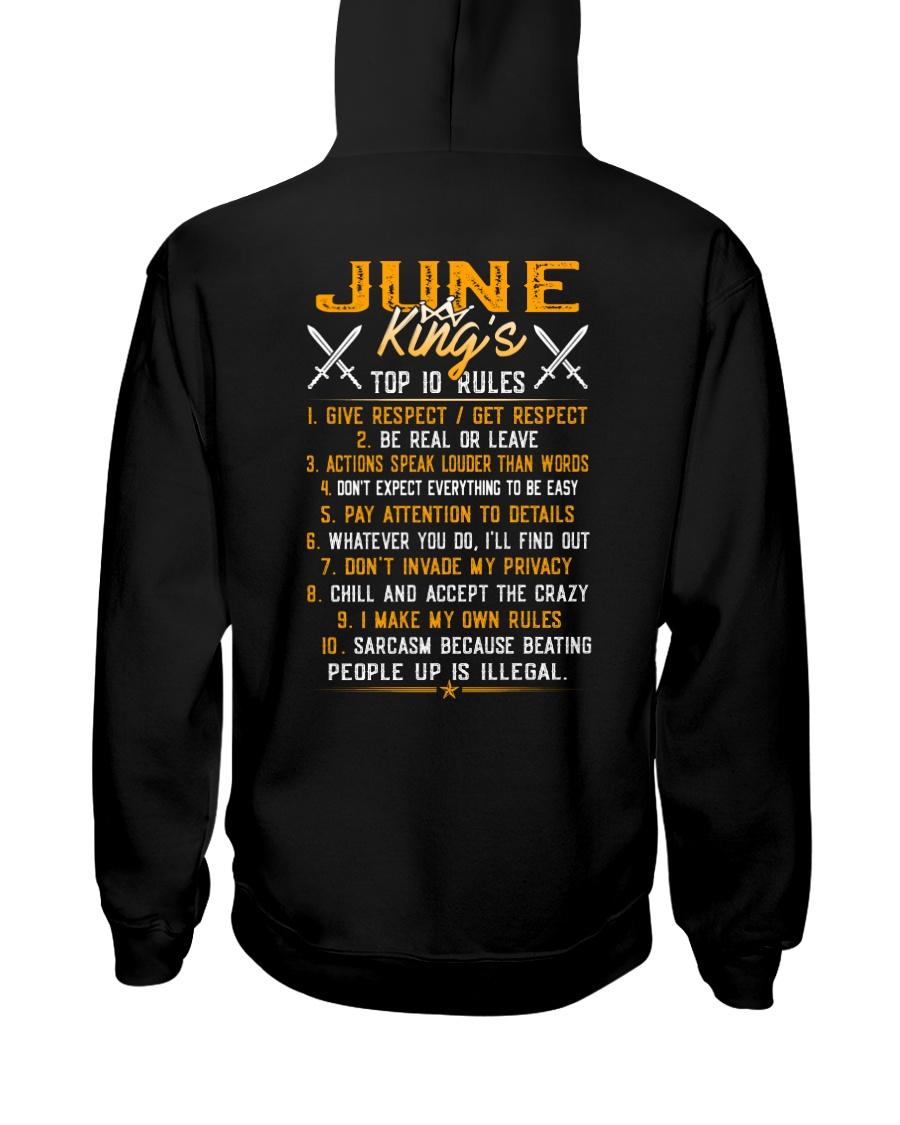 KING 10 RULE-6 Hooded Sweatshirt