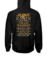 KING 10 RULE-6 Hooded Sweatshirt back