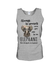 ALWAYS BE YOURSELF- ELEPHANT Unisex Tank thumbnail
