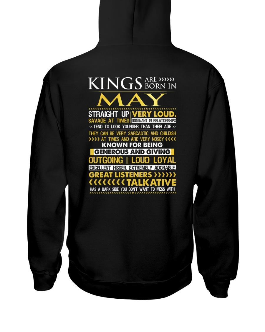 US-ROYAL-BORN-KING-5 Hooded Sweatshirt