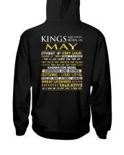 US-ROYAL-BORN-KING-5 Hooded Sweatshirt back
