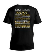 US-ROYAL-BORN-KING-5 V-Neck T-Shirt thumbnail