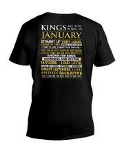 US-ROYAL-BORN-KING-1 V-Neck T-Shirt thumbnail
