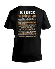 KINGS-EU-12 V-Neck T-Shirt thumbnail
