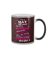JUST A WOMAN LOVE CATS Color Changing Mug thumbnail
