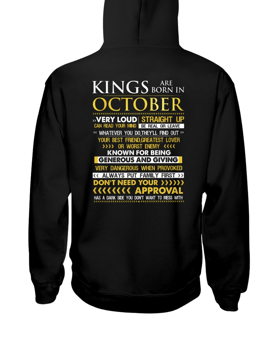 US-LOUD-KING-10 Hooded Sweatshirt