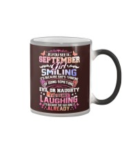 MONTH GIRL-9 Color Changing Mug tile