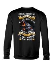 US-GUY-BORN-AS-12 Crewneck Sweatshirt thumbnail