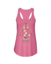 Meowy Christmas Ladies Flowy Tank tile
