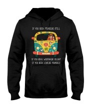 SEEK-BE YOURSELF Hooded Sweatshirt front