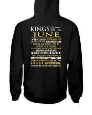 TRUE-KING-6 Hooded Sweatshirt back
