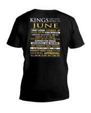 TRUE-KING-6 V-Neck T-Shirt thumbnail