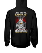 AF-MONTH GUY-11 Hooded Sweatshirt back