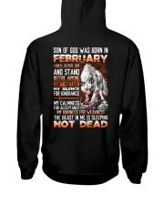 SON OF GOD - US - 2 Hooded Sweatshirt back