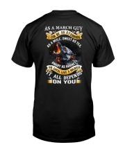 GUY-BORN-AS-3 Classic T-Shirt back