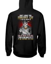 AF-MONTH GUY-2 Hooded Sweatshirt back