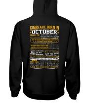 KING-AMAZING-10 Hooded Sweatshirt back