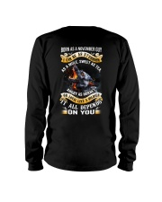 US-GUY-BORN-AS-11 Long Sleeve Tee thumbnail