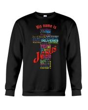 JESUS-NAME Crewneck Sweatshirt thumbnail