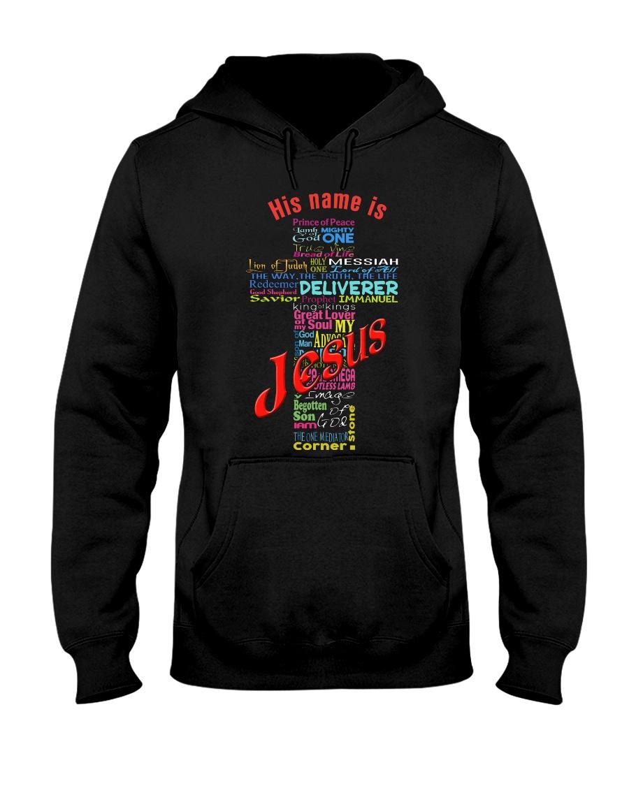 JESUS-NAME Hooded Sweatshirt