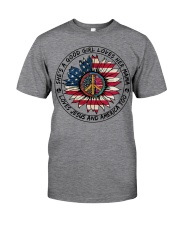 MERICA-GOOD GIRL Classic T-Shirt front