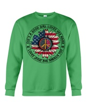 MERICA-GOOD GIRL Crewneck Sweatshirt thumbnail