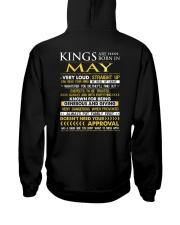 TRUE-KING-5 Hooded Sweatshirt back