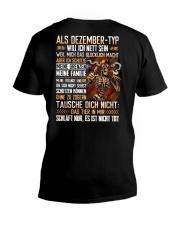 KNOWGUY - MONTH - GERMAN -12 V-Neck T-Shirt thumbnail