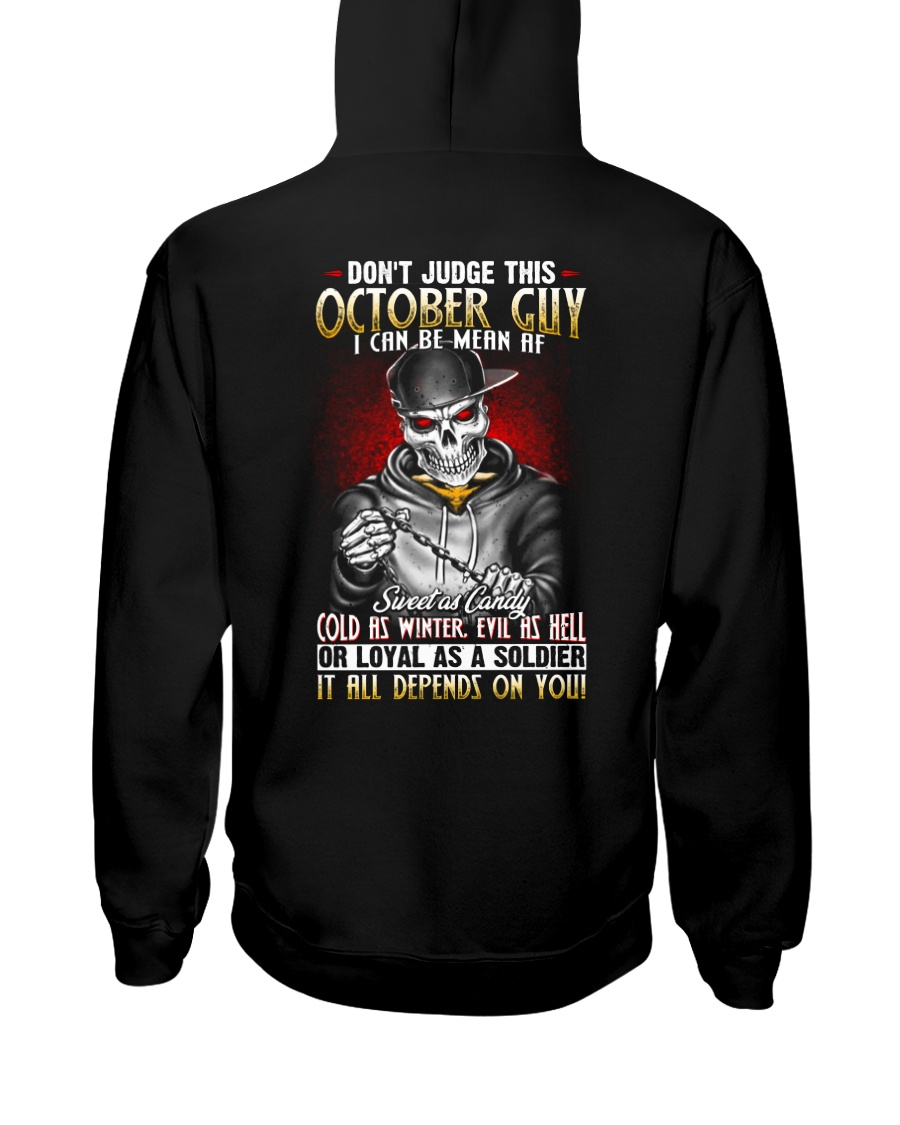 AF-MONTH GUY-10 Hooded Sweatshirt