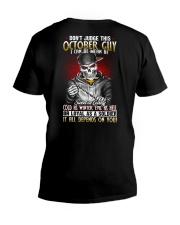 AF-MONTH GUY-10 V-Neck T-Shirt thumbnail