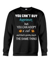 ADOPT A CAT  Crewneck Sweatshirt thumbnail