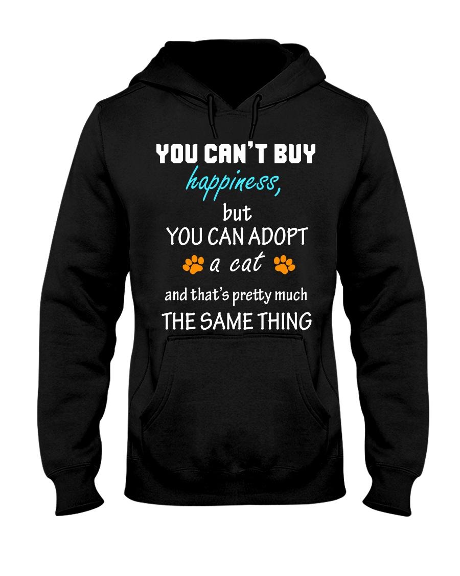 ADOPT A CAT  Hooded Sweatshirt