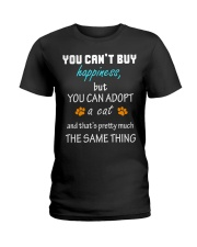 ADOPT A CAT  Ladies T-Shirt thumbnail
