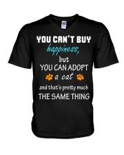 ADOPT A CAT  V-Neck T-Shirt thumbnail