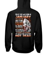 SON OF GOD - US - 1 Hooded Sweatshirt back