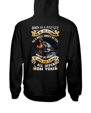 US-GUY-BORN-AS-7 Hooded Sweatshirt tile