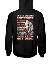 SON OF GOD - US - 9 Hooded Sweatshirt back