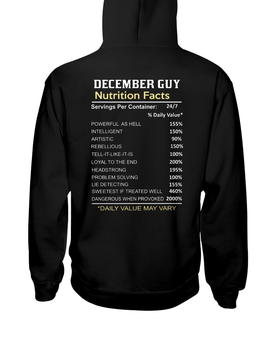 US-GUY FACT-12 Hooded Sweatshirt