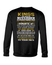KING BORN IN-NOVEMBER Crewneck Sweatshirt thumbnail