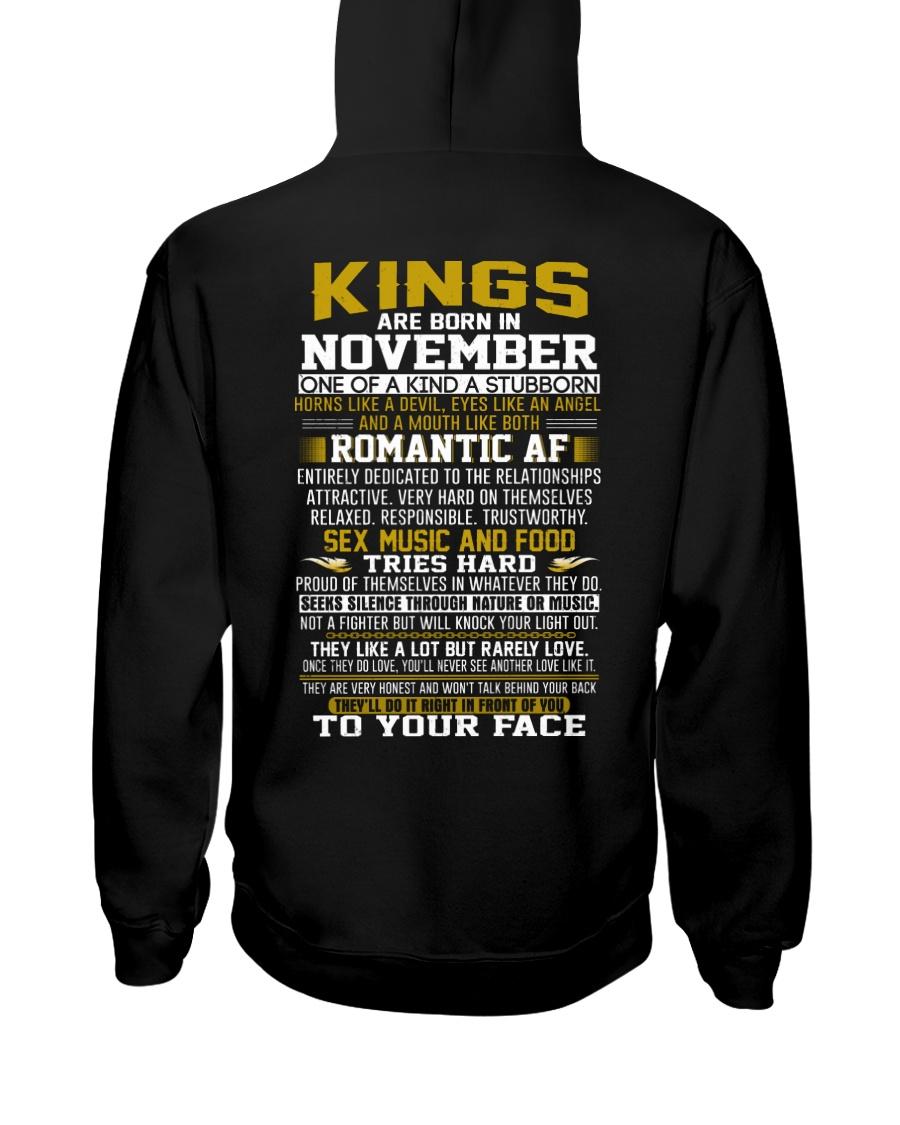 KING BORN IN-NOVEMBER Hooded Sweatshirt