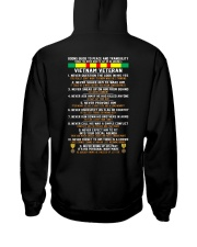 VN-VETERAN Hooded Sweatshirt back