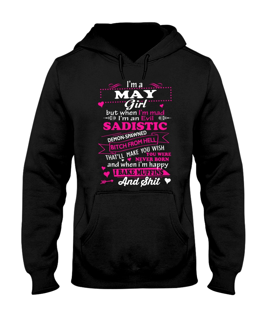 MAD GIRL-5 Hooded Sweatshirt