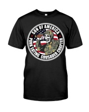 PORK EATING CRUSADER Classic T-Shirt thumbnail
