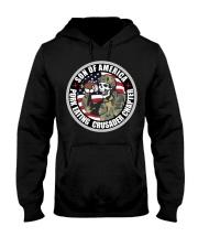PORK EATING CRUSADER Hooded Sweatshirt front