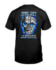 GUY-3THINGS-6 Classic T-Shirt back